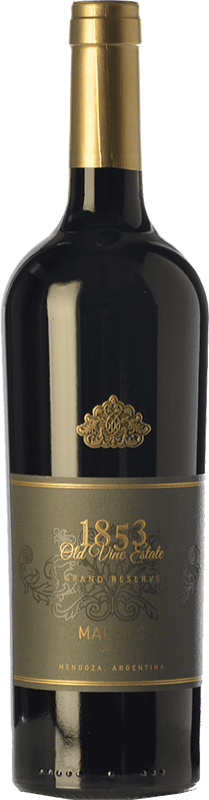 41,95 € Free Shipping | Red wine Kauzo 1853 Gran Reserva I.G. Valle de Uco Uco Valley Argentina Malbec Bottle 75 cl