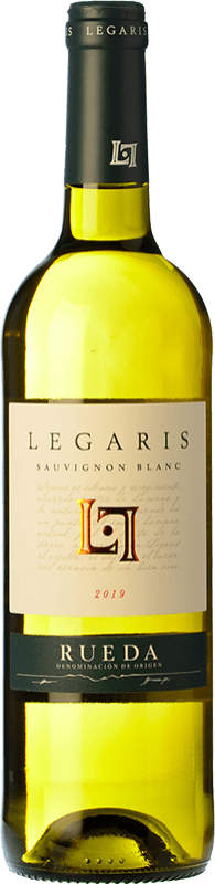 9,95 € Free Shipping | White wine Legaris D.O. Rueda Castilla y León Spain Sauvignon White Bottle 75 cl