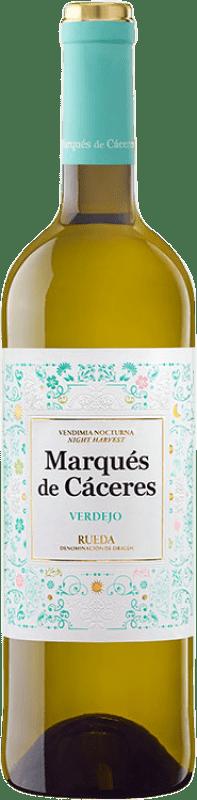 6,95 € Free Shipping | White wine Marqués de Cáceres D.O. Rueda Castilla y León Spain Verdejo Bottle 75 cl