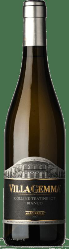 15,95 € Free Shipping | White wine Masciarelli Villa Gemma Bianco I.G.T. Colline Teatine Abruzzo Italy Trebbiano d'Abruzzo, Coda di Volpe, Pecorino Bottle 75 cl