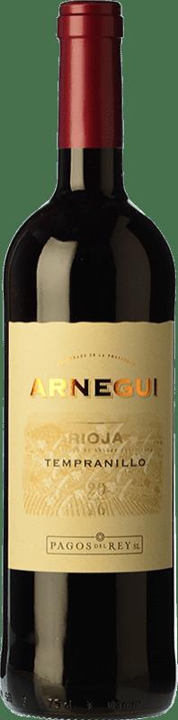 6,95 € Free Shipping | Red wine Pagos del Rey Arnegui Joven D.O.Ca. Rioja The Rioja Spain Tempranillo Bottle 75 cl
