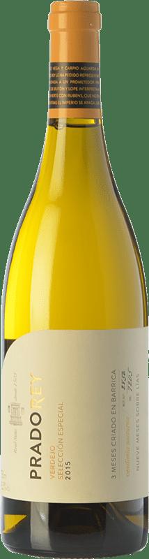 9,95 € Free Shipping | White wine Ventosilla PradoRey Selección Especial Crianza D.O. Rueda Castilla y León Spain Verdejo Bottle 75 cl