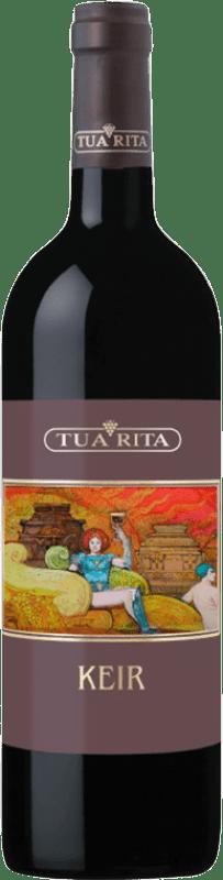 89,95 € Free Shipping | Red wine Tua Rita Keir I.G.T. Toscana Tuscany Italy Syrah Bottle 75 cl
