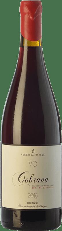 39,95 € Free Shipping   Red wine Verónica Ortega Cobrana Crianza D.O. Bierzo Castilla y León Spain Mencía, Grenache Tintorera, Godello, Palomino Fino, Doña Blanca Bottle 75 cl