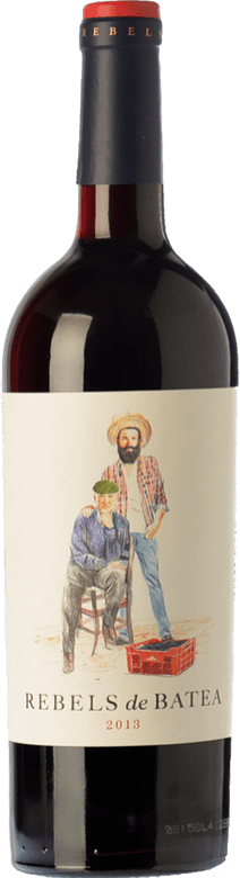 9,95 € Free Shipping | Red wine 7 Magnífics Rebels de Batea Negre Joven D.O. Terra Alta Catalonia Spain Grenache Bottle 75 cl