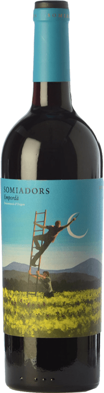 15,95 € Free Shipping | Red wine 7 Magnífics Somiadors Joven D.O. Empordà Catalonia Spain Grenache, Carignan Bottle 75 cl