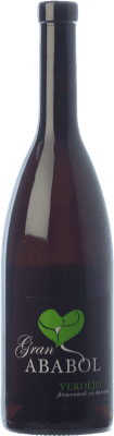 19,95 € Free Shipping | White wine Ababol Gran Selección Crianza I.G.P. Vino de la Tierra de Castilla y León Castilla y León Spain Verdejo Bottle 75 cl