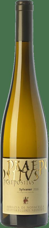 18,95 € Free Shipping | White wine Abbazia di Novacella Praepositus D.O.C. Alto Adige Trentino-Alto Adige Italy Sylvaner Bottle 75 cl