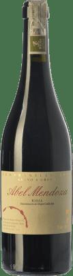 52,95 € Kostenloser Versand | Rotwein Abel Mendoza Grano a Grano Crianza D.O.Ca. Rioja La Rioja Spanien Tempranillo Flasche 75 cl