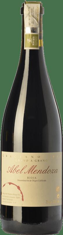 49,95 € Free Shipping | Red wine Abel Mendoza Grano a Grano Crianza D.O.Ca. Rioja The Rioja Spain Graciano Bottle 75 cl