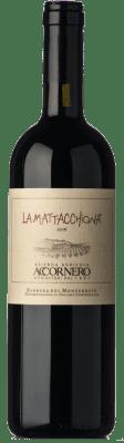 11,95 € Free Shipping | Red wine Accornero La Mattacchiona D.O.C. Barbera del Monferrato Piemonte Italy Barbera Bottle 75 cl