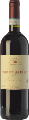 17,95 € Free Shipping | Red wine Adanti Rosso D.O.C. Montefalco Umbria Italy Merlot, Cabernet Sauvignon, Sangiovese, Barbera, Sagrantino Bottle 75 cl