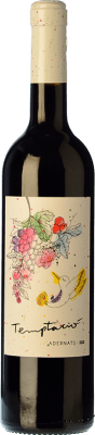 12,95 € Free Shipping | Red wine Adernats Instint Joven D.O. Tarragona Catalonia Spain Tempranillo, Merlot Bottle 75 cl