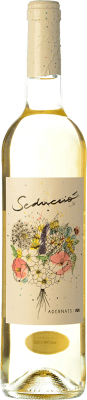 9,95 € Free Shipping | White wine Adernats Seducció D.O. Tarragona Catalonia Spain Xarel·lo, Chardonnay, Muscatel Small Grain Bottle 75 cl