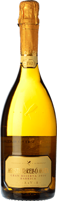 24,95 € Free Shipping | White sparkling Agustí Torelló Barrica Gran Reserva D.O. Cava Catalonia Spain Macabeo Bottle 75 cl. | Thousands of wine lovers trust us to get the best price guarantee, free shipping always and hassle-free shopping and returns.