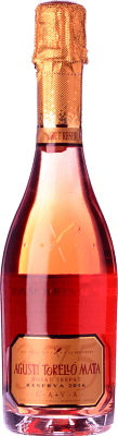 9,95 € Free Shipping | Rosé sparkling Agustí Torelló Rosat Reserva D.O. Cava Catalonia Spain Trepat Half Bottle 37 cl | Thousands of wine lovers trust us to get the best price guarantee, free shipping always and hassle-free shopping and returns.