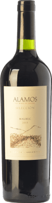 12,95 € Free Shipping | Red wine Alamos Selección Crianza I.G. Mendoza Mendoza Argentina Malbec Bottle 75 cl