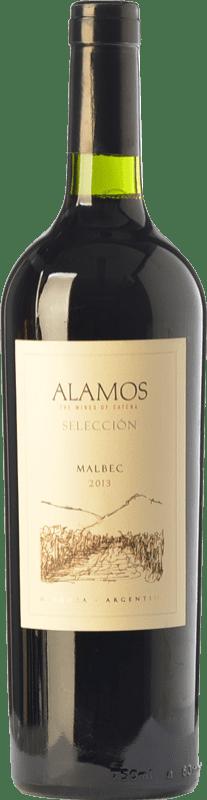 9,95 € Envoi gratuit | Vin rouge Alamos Selección Crianza I.G. Mendoza Mendoza Argentine Malbec Bouteille 75 cl