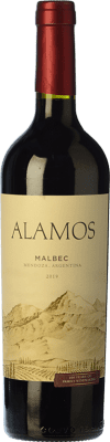 7,95 € Free Shipping | Red wine Alamos Joven I.G. Mendoza Mendoza Argentina Malbec Bottle 75 cl