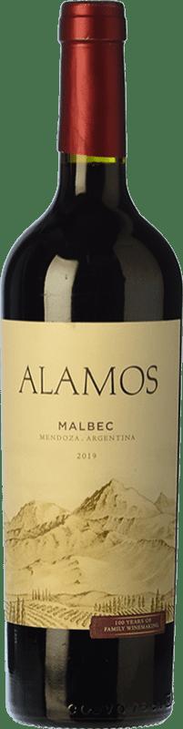 7,95 € Envoi gratuit | Vin rouge Alamos Joven I.G. Mendoza Mendoza Argentine Malbec Bouteille 75 cl