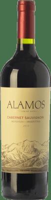 11,95 € Free Shipping | Red wine Alamos Joven I.G. Mendoza Mendoza Argentina Cabernet Sauvignon Bottle 75 cl