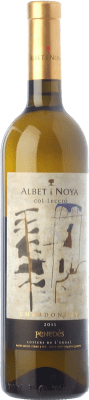 21,95 € Free Shipping | White wine Albet i Noya Col·lecció Crianza D.O. Penedès Catalonia Spain Chardonnay Bottle 75 cl. | Thousands of wine lovers trust us to get the best price guarantee, free shipping always and hassle-free shopping and returns.