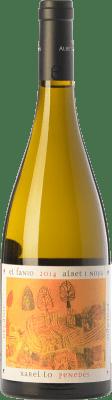 13,95 € Envío gratis | Vino blanco Albet i Noya El Fanio Crianza D.O. Penedès Cataluña España Xarel·lo Botella 75 cl