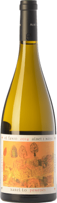 13,95 € Kostenloser Versand | Weißwein Albet i Noya El Fanio Crianza D.O. Penedès Katalonien Spanien Xarel·lo Flasche 75 cl