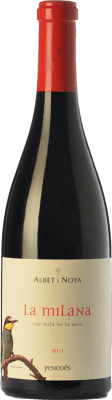 22,95 € Free Shipping | Red wine Albet i Noya La Milana Crianza D.O. Penedès Catalonia Spain Tempranillo, Merlot, Cabernet Sauvignon, Caladoc Bottle 75 cl. | Thousands of wine lovers trust us to get the best price guarantee, free shipping always and hassle-free shopping and returns.