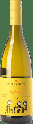 9,95 € Kostenloser Versand | Weißwein Albet i Noya Lignum D.O. Penedès Katalonien Spanien Chardonnay, Sauvignon Weiß Flasche 75 cl
