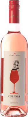 8,95 € Kostenloser Versand | Rosé-Wein Albet i Noya Rosat Curiosa D.O. Penedès Katalonien Spanien Merlot, Pinot Schwarz Flasche 75 cl