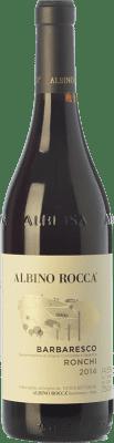 46,95 € Free Shipping | Red wine Albino Rocca Ronchi D.O.C.G. Barbaresco Piemonte Italy Nebbiolo Bottle 75 cl
