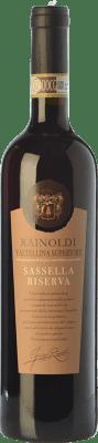 32,95 € Kostenloser Versand | Rotwein Rainoldi Sassella Riserva Reserva D.O.C.G. Valtellina Superiore Lombardei Italien Nebbiolo Flasche 75 cl