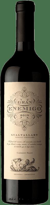 104,95 € Envío gratis | Vino tinto Aleanna Gran Enemigo Gualtallary Single Vineyard Joven I.G. Mendoza Mendoza Argentina Cabernet Franc, Malbec Botella 75 cl