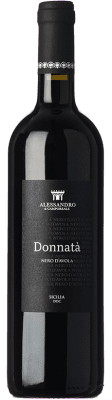 13,95 € Free Shipping | Red wine Alessandro di Camporeale Donnatà I.G.T. Terre Siciliane Sicily Italy Nero d'Avola Bottle 75 cl