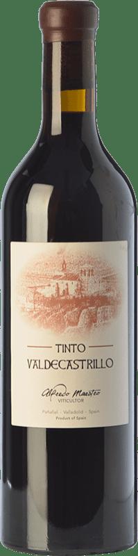 11,95 € Envío gratis | Vino tinto Maestro Tejero Castrillo de Duero Crianza I.G.P. Vino de la Tierra de Castilla y León Castilla y León España Tempranillo Botella 75 cl