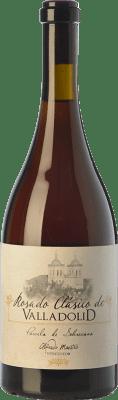 14,95 € Free Shipping | Rosé wine Maestro Tejero Clásico Valladolid Parcela Sobrecasa D.O. Cigales Castilla y León Spain Tempranillo, Grenache, Muscatel, Palomino Fino, Verdejo Bottle 75 cl