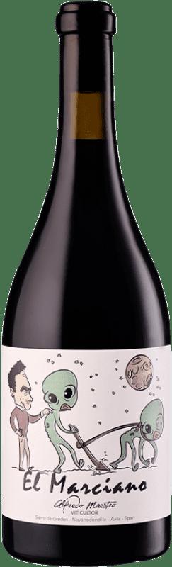 14,95 € Envío gratis | Vino tinto Maestro Tejero El Marciano Joven I.G.P. Vino de la Tierra de Castilla y León Castilla y León España Garnacha Botella 75 cl