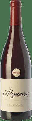 43,95 € Free Shipping | Red wine Algueira Crianza D.O. Ribeira Sacra Galicia Spain Merenzao Bottle 75 cl