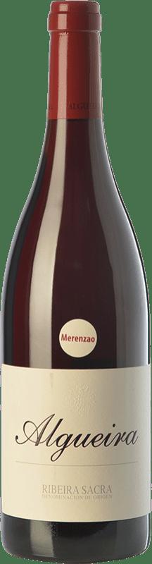 37,95 € Envoi gratuit | Vin rouge Algueira Crianza D.O. Ribeira Sacra Galice Espagne Merenzao Bouteille 75 cl