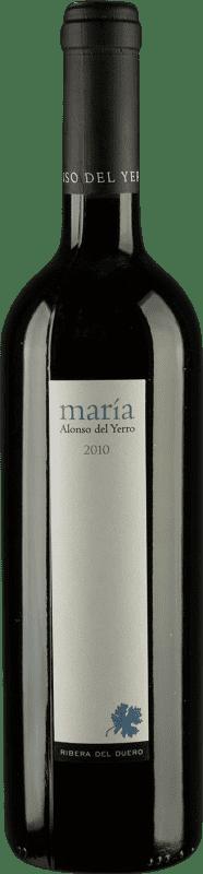 59,95 € Envoi gratuit | Vin rouge Alonso del Yerro María Crianza D.O. Ribera del Duero Castille et Leon Espagne Tempranillo Bouteille 75 cl