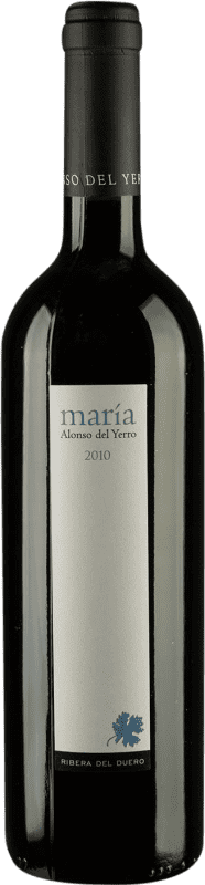 47,95 € Envío gratis | Vino tinto Alonso del Yerro María Crianza D.O. Ribera del Duero Castilla y León España Tempranillo Botella 75 cl