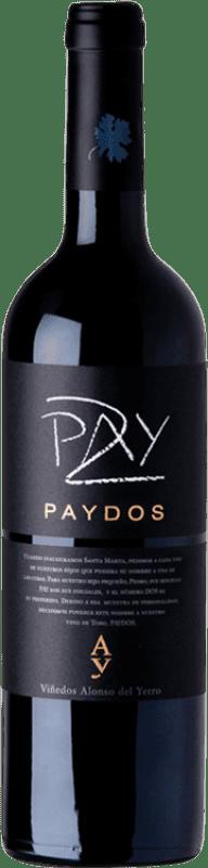 37,95 € Free Shipping | Red wine Alonso del Yerro Paydos Crianza D.O. Toro Castilla y León Spain Tinta de Toro Bottle 75 cl