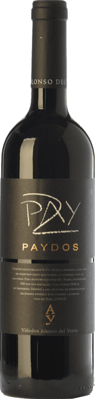 37,95 € Envoi gratuit | Vin rouge Alonso del Yerro Paydos Crianza D.O. Toro Castille et Leon Espagne Tinta de Toro Bouteille 75 cl