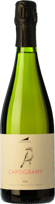 24,95 € Free Shipping | White sparkling Alta Alella AA Capsigrany Natural Brut Nature D.O. Cava Catalonia Spain Pansa Rosé Bottle 75 cl