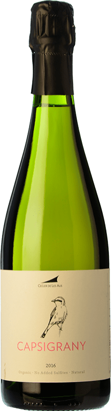 24,95 € Free Shipping | White sparkling Alta Alella AA Capsigrany Natural Brut Nature D.O. Cava Catalonia Spain Pansa Rosé Bottle 75 cl