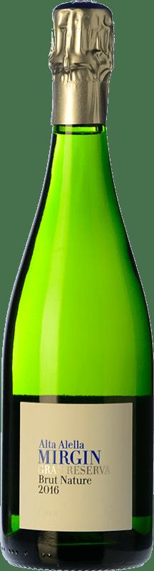 12,95 € Free Shipping | White sparkling Alta Alella AA Mirgin Brut Nature Reserva D.O. Cava Catalonia Spain Macabeo, Xarel·lo, Parellada Bottle 75 cl