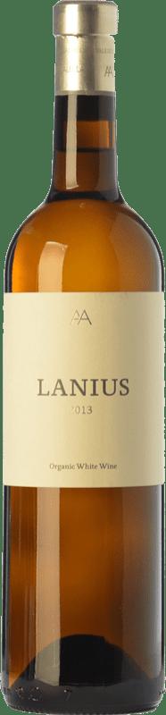 18,95 € Free Shipping | White wine Alta Alella AA Lanius Crianza D.O. Alella Catalonia Spain Viognier, Muscat of Alexandria, Chardonnay, Sauvignon White, Pensal White Bottle 75 cl