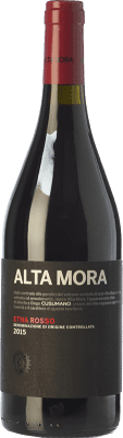 24,95 € Free Shipping | Red wine Alta Mora Rosso D.O.C. Etna Sicily Italy Nerello Mascalese Bottle 75 cl