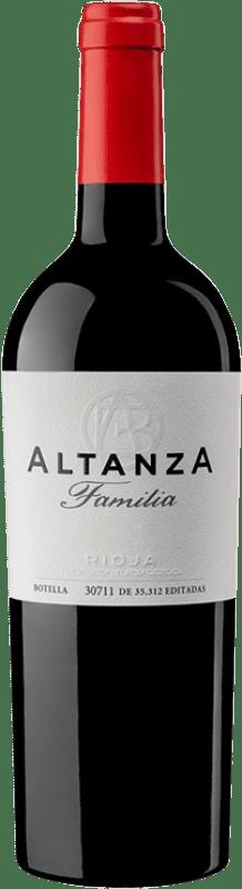 19,95 € Envoi gratuit | Vin rouge Altanza Lealtanza Selección Familiar Reserva D.O.Ca. Rioja La Rioja Espagne Tempranillo Bouteille 75 cl